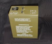 BB-390A/U Nickel Metal                   Hydride battery
